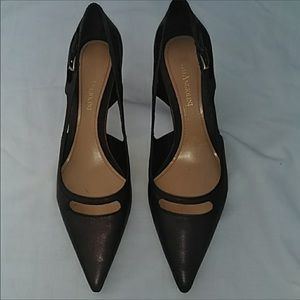 Enzo Angiolini Brown Leather Pointed Toe Heel 8M